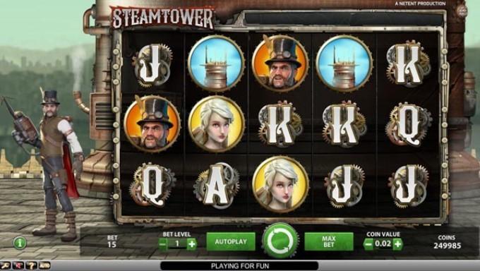 характеристики Steam Tower