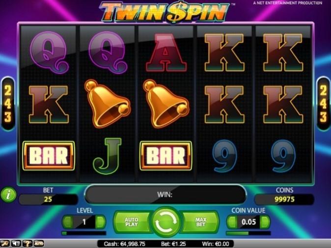 характеристики игры Twin Spin
